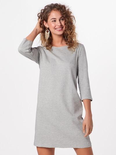 TOM TAILOR DENIM Kleid 'Easy' in silbergrau, Modelansicht