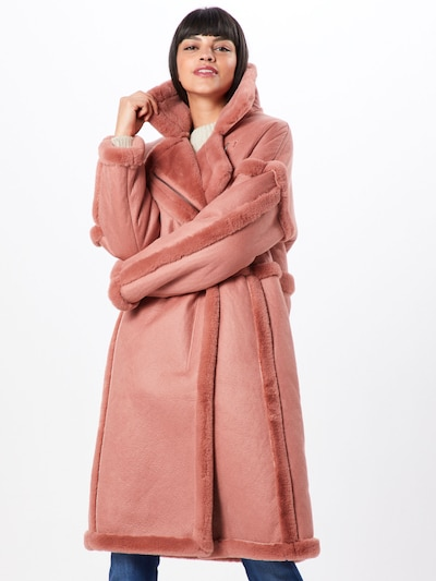 VILA Mantel 'VIELBA COAT' in rosé, Modelansicht