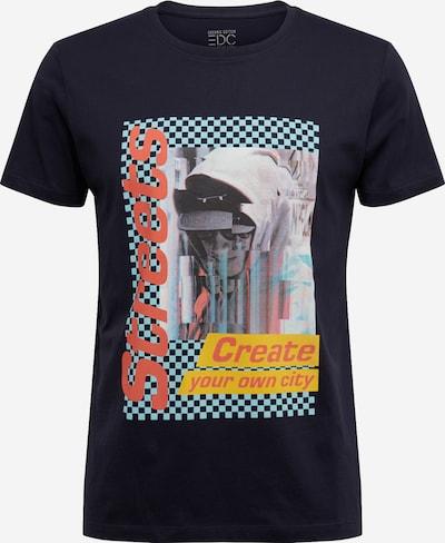 EDC BY ESPRIT Shirt in navy / mischfarben, Produktansicht