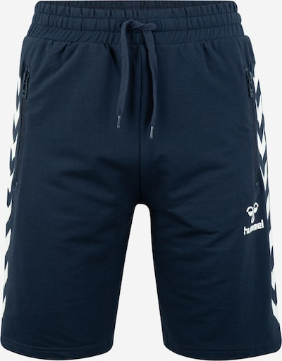 Hummel Shorts 'RAY' in dunkelblau / weiß, Produktansicht