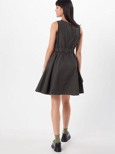 G-Star RAW Šaty - šedá: Pohled zezadu
