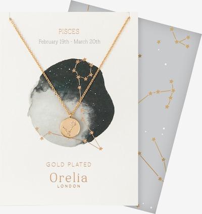 Orelia Ketting 'Pisces' in de kleur Goud, Productweergave