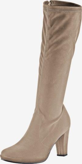 ANDREA CONTI Stretch-Stiefel in beige, Produktansicht