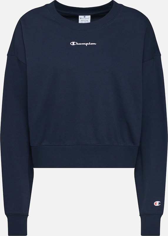 Champion Authentic Athletic Apparel Sportief sweatshirt 'Crewneck Sweatshirt' in de kleur Blauw, Productweergave