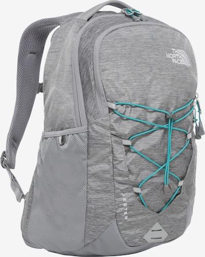 THE NORTH FACE Rucksack 'Jester' in türkis / grau, Produktansicht
