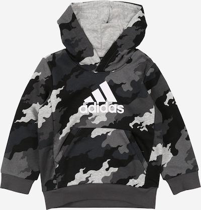ADIDAS PERFORMANCE Sweatshirt 'YB MH BOS PO' in grau / schwarz / weiß, Produktansicht