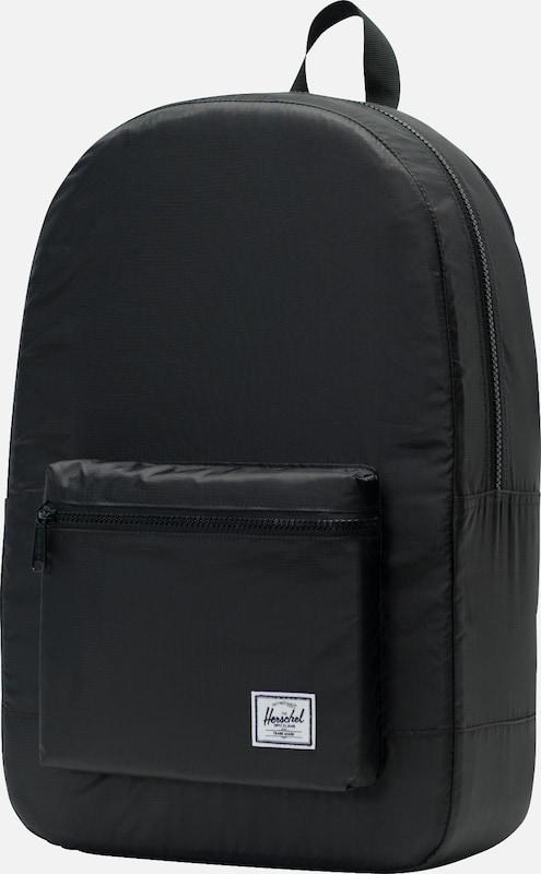 À Sac Daypack' Noir Herschel 'packable Dos En LpqSGzMUV
