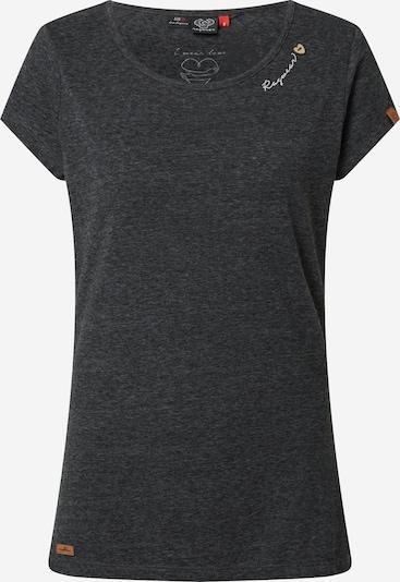 Ragwear T-Shirt 'Mint' in schwarzmeliert, Produktansicht