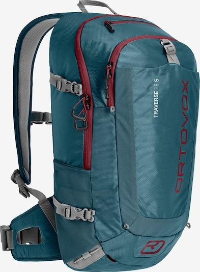 ORTOVOX Wanderrucksack 'Traverse 18 S' in aqua / blaumeliert, Produktansicht