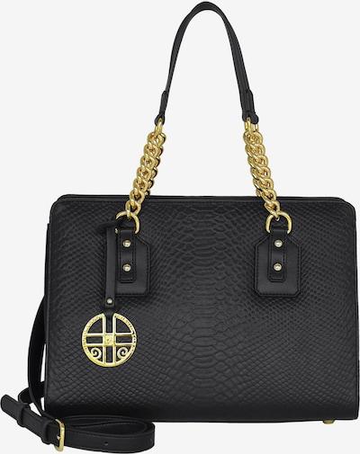 Silvio Tossi Handtasche in gold / schwarz, Produktansicht