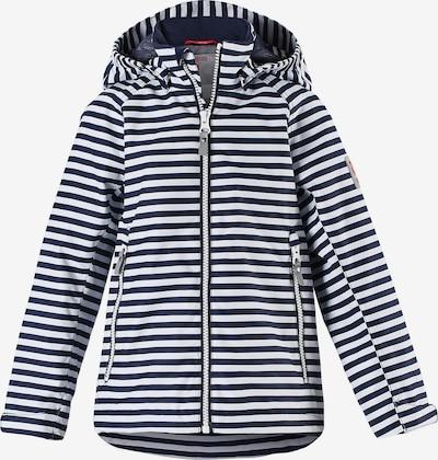 Reima Regenjacke 'Schiff' in blau / weiß, Produktansicht