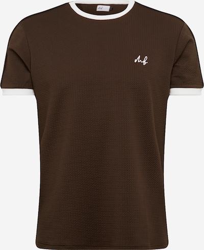 BURTON MENSWEAR LONDON Shirt 'MB KHK/ECRU TIP TEE ' in de kleur Groen, Productweergave