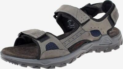 ARA Sandalen in blau / grau / schwarz, Produktansicht
