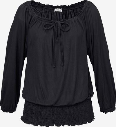 LASCANA Carmenshirt in schwarz, Produktansicht