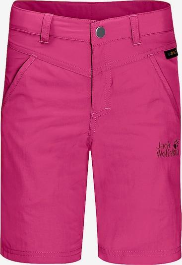 JACK WOLFSKIN Shorts 'Sun' in pink / schwarz, Produktansicht