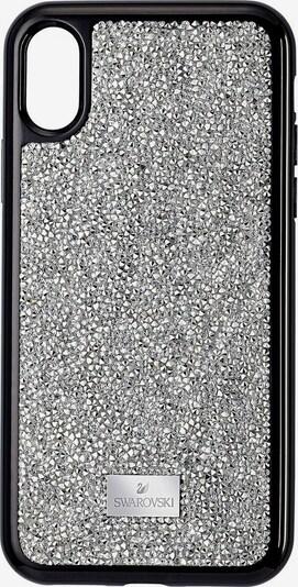 Swarovski Smartphonehülle in schwarz / silber, Produktansicht