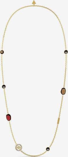 GUESS Kette 'Lamchic Stones' in gold / mischfarben, Produktansicht