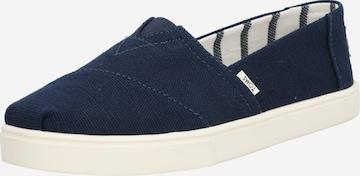 TOMS Slippers i blå
