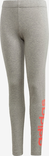 ADIDAS PERFORMANCE Leggings 'Essentials' in grau / neonpink, Produktansicht