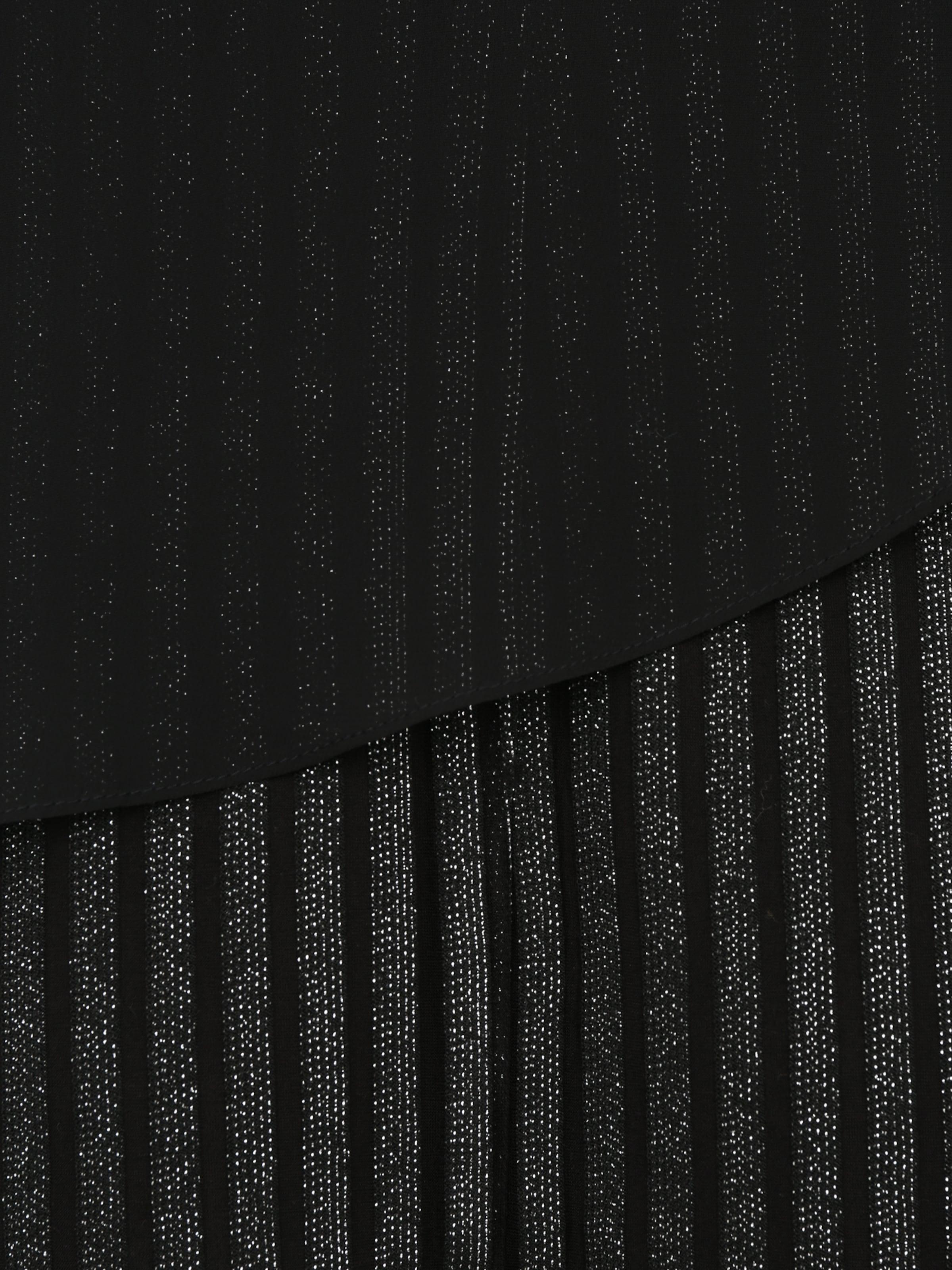 SWING Curve Klänning i svart / silver