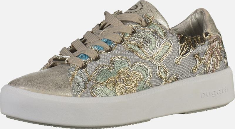 bugatti Sneaker mit Verschleißfeste Stickereien Verschleißfeste mit billige Schuhe b1ea0e