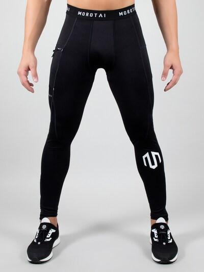 MOROTAI Sport-Leggings in schwarz: Frontalansicht
