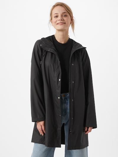 Samsoe Samsoe Abrigo de entretiempo 'Stala' en negro, Vista del modelo