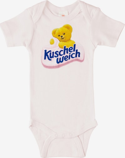 "LOGOSHIRT Body ""Kuschelweich"" in blau / gelb / rosa, Produktansicht"