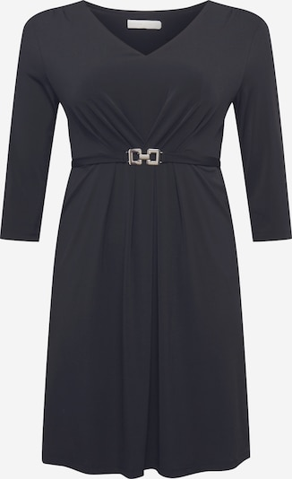 Guido Maria Kretschmer Curvy Collection Vestido 'Evelina' en negro, Vista del producto