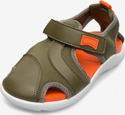 CAMPER Open schoenen 'Wous' in de kleur Olijfgroen, Productweergave