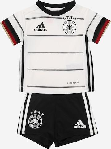ADIDAS PERFORMANCE Trainingsanzug  'DFB EM 2020 Heim' in Weiß