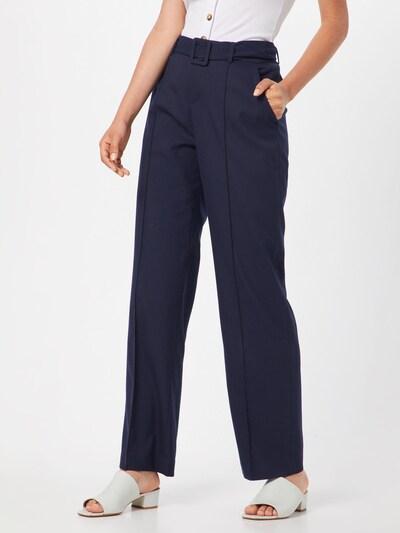 OPUS Viikidega püksid 'Malina' sinine, Modellivaade