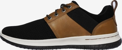 SKECHERS Sneaker 'DELSON-BRANT' in braun / schwarz / weiß, Produktansicht