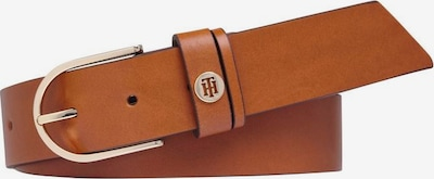 TOMMY HILFIGER Opasek - koňaková / zlatá, Produkt