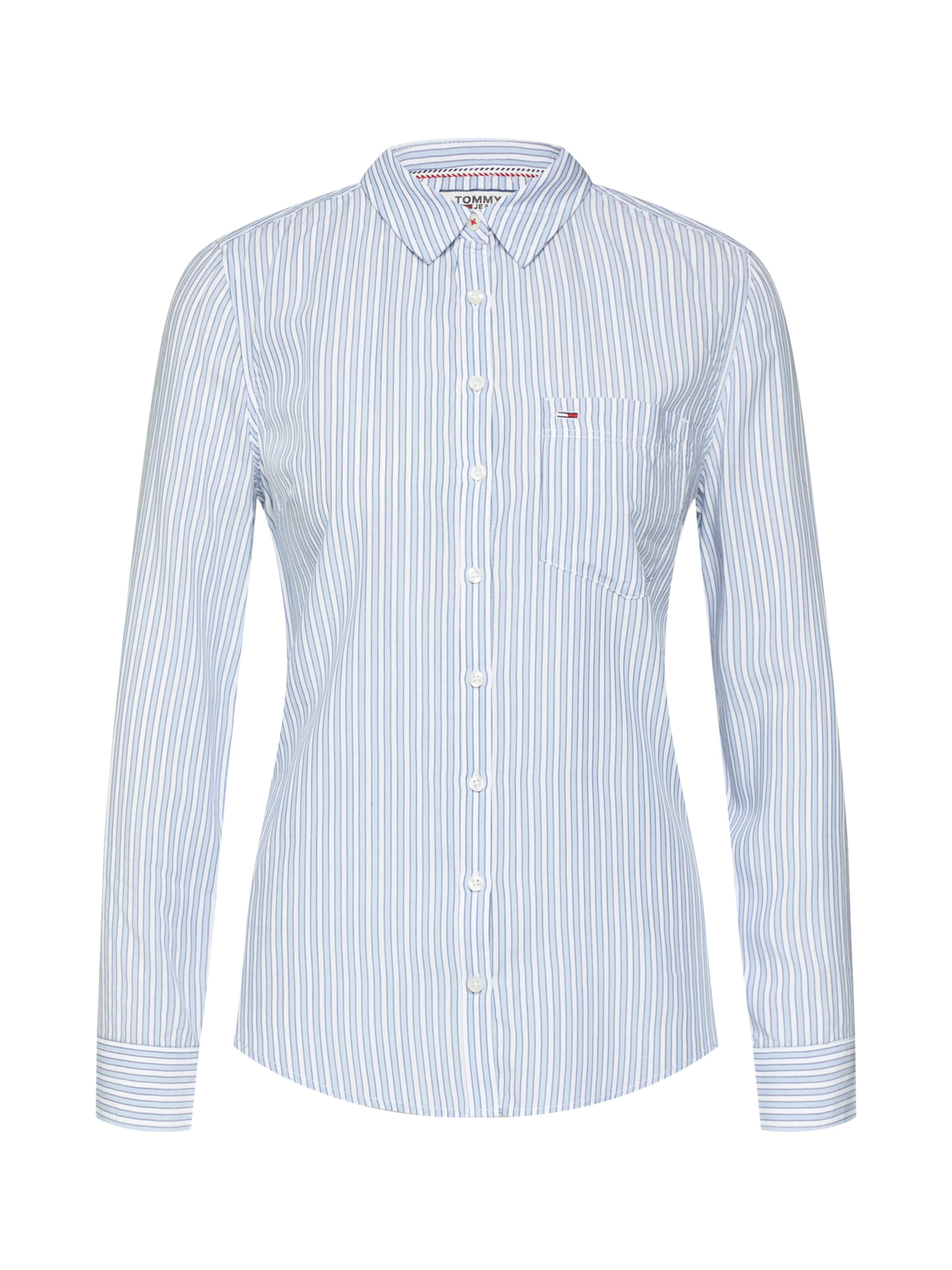Bluse Tommy Tommy In Bluse Jeans Tommy In HellblauWeiß Jeans HellblauWeiß Jeans PXZiku