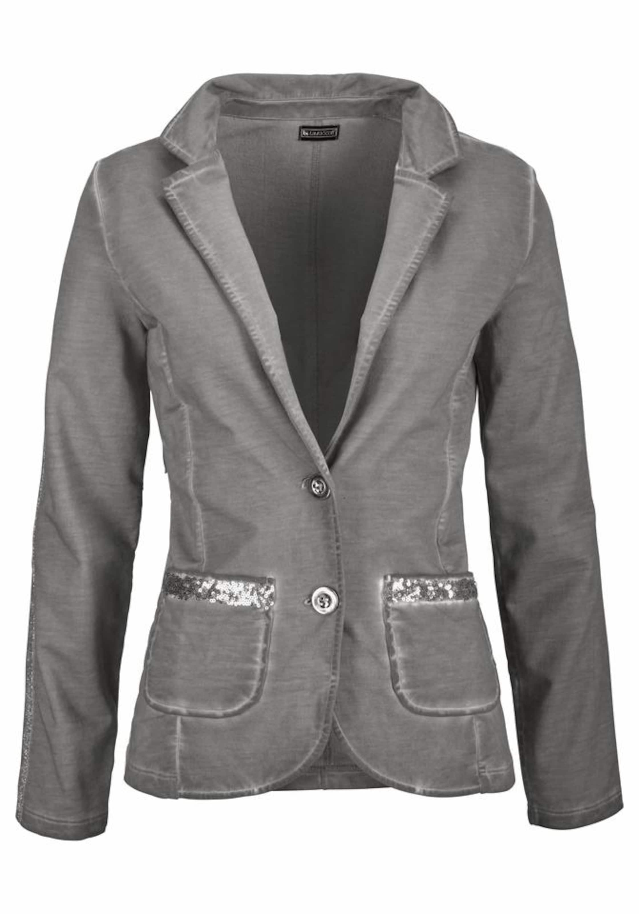 Laura Scott Laura Sweatblazer In In Sweatblazer Laura Scott Grau Grau qSUMVzp
