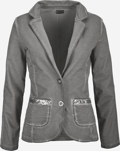 LAURA SCOTT Sweatblazer in grau, Produktansicht