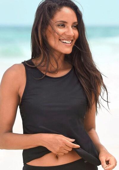LASCANA Haut de tankini en noir, Vue avec modèle