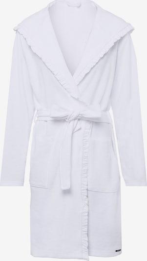 Skiny Robe in weiß, Produktansicht
