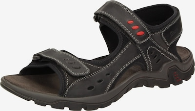 SIOUX Sandale 'Upendaro-700' in schwarz, Produktansicht