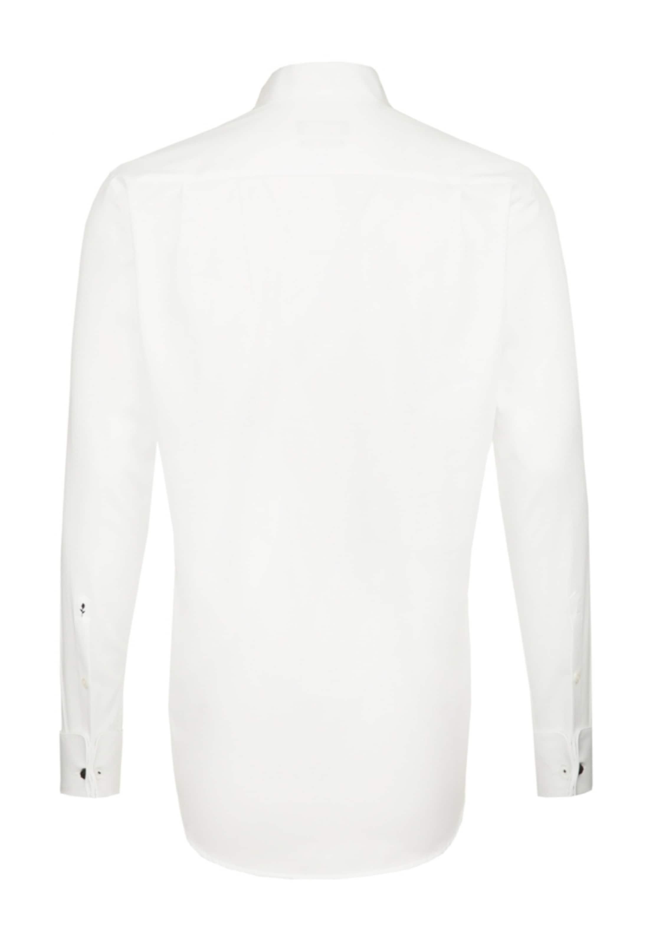 'modern' Business Blanc Seidensticker En Chemise nwmN08