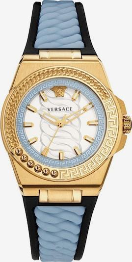 VERSACE Uhr 'Chain Reaction' in hellblau / gold / schwarz, Produktansicht