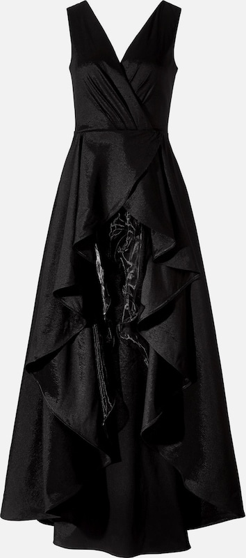 APART Taftkleid in schwarz    Großer Rabatt 68c67e