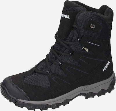 MEINDL Boots in de kleur Zwart: Vooraanzicht