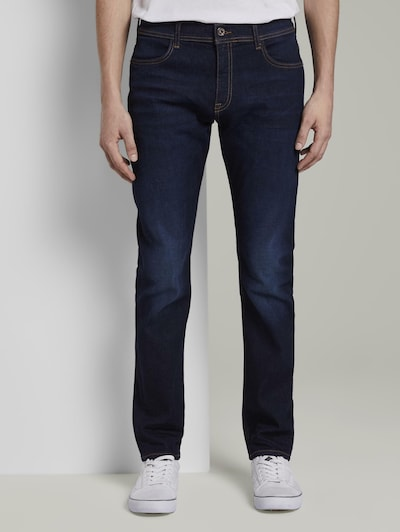 TOM TAILOR Jeanshosen Troy Slim Jeans in blau, Modelansicht