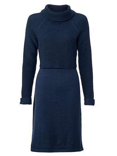 Rochie tricotat heine pe albastru, Vizualizare produs