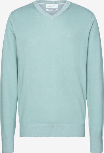 Calvin Klein V-Neck Jumper in hellblau, Produktansicht