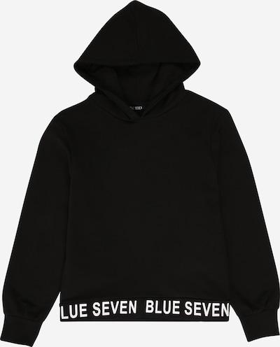 BLUE SEVEN Sweat-shirt en noir, Vue avec produit