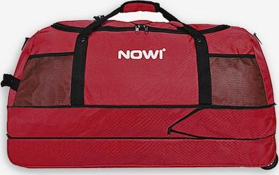 Nowi Reisetasche in rot / schwarz / weiß, Produktansicht