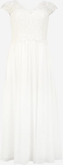 My Mascara Curves Večerné šaty 'SLEEVE LACE' - slonová kosť: Pohľad spredu